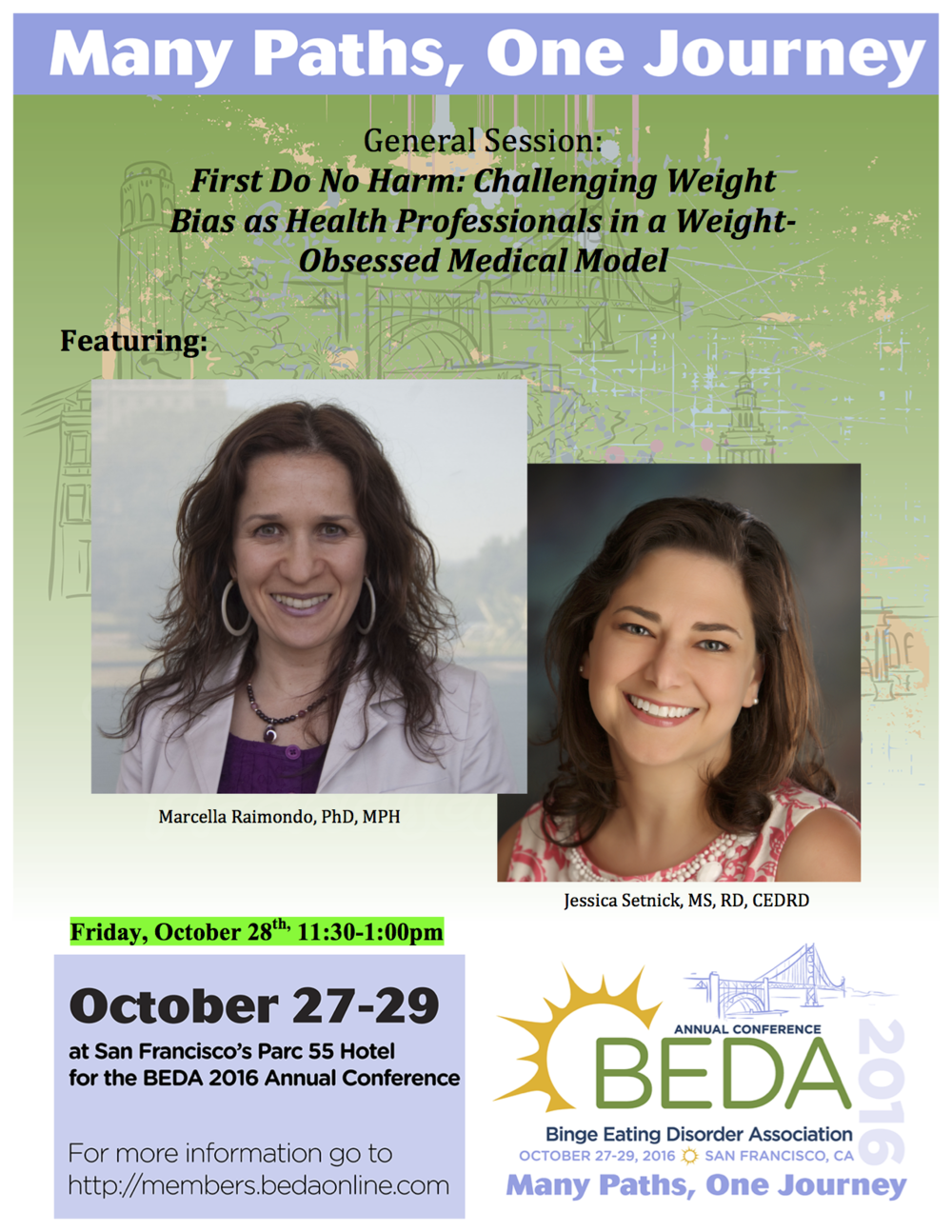 BEDA 2016 speakers events