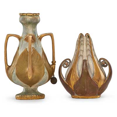 Kim Ahara -                Q Antiques & Design - Art Nouveau antique and vintage ceramics