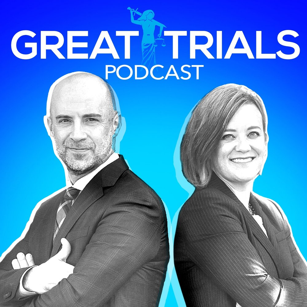 Great Trials Podcast hosts Steve Lowry and Yvonne Godfrey