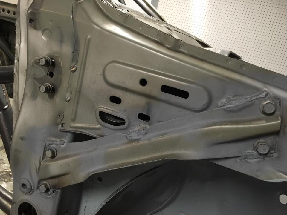 Welded Front Chassis Brace