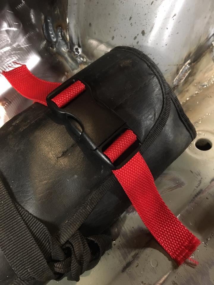 Nylon Straps With Quick Snap Off Buckles