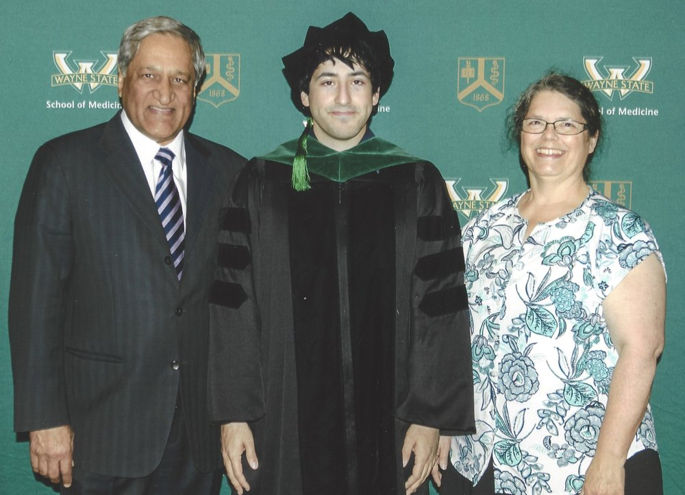Wayne State Helped Me Achieve My American Dream... - I owe a great deal to Wayne State University. WSU is where I completed my residency in urology when I first came to the United States. My entire family has been impacted by WSU. I met my wife Marjorie at Wayne State,who graduated from Wayne State Medical School. My two sons also graduated from Wayne State undergrad, and my eldest son recently graduated from Wayne Medical School. Both my wife and I have actively participated in the alumni association, of which my wife has served as co-chair. As an alum, I deeply care about the university, students, staff, and my fellow alumni. I understand how important strong leadership is in this role, and I am running to maximize what I can do to give back to my alma mater.
