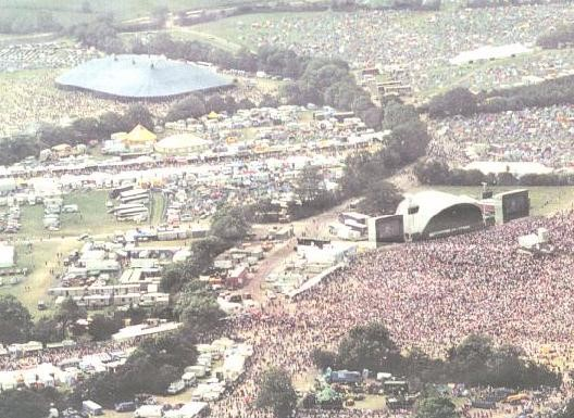 Glastonbury 1999 Arial Photo