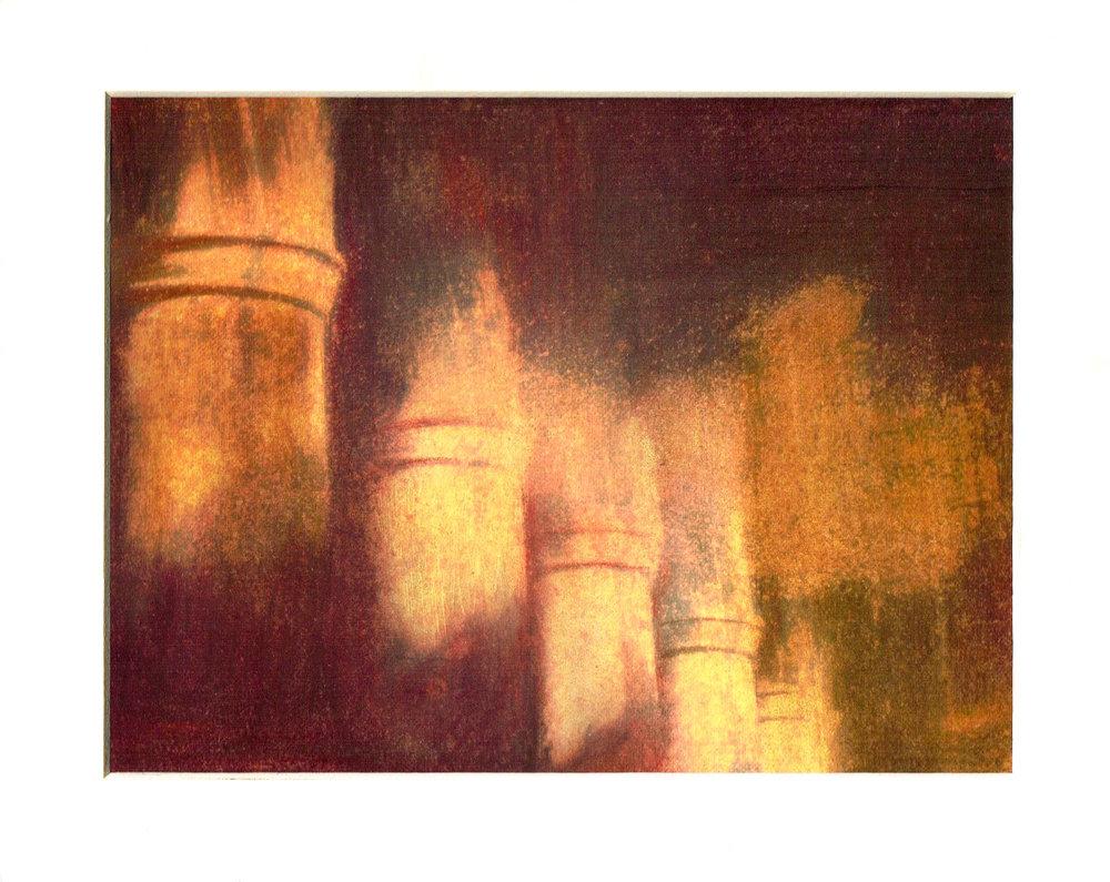 A Pastel enhanced from an original bromide by Steve Lambley