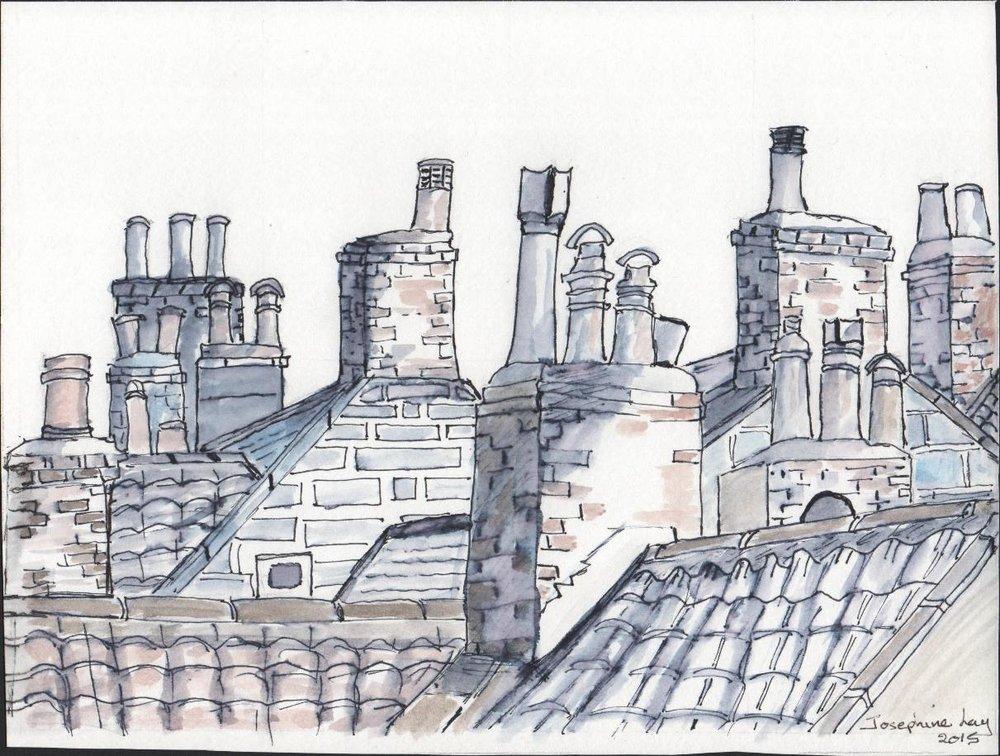 Cloucester Chimneys