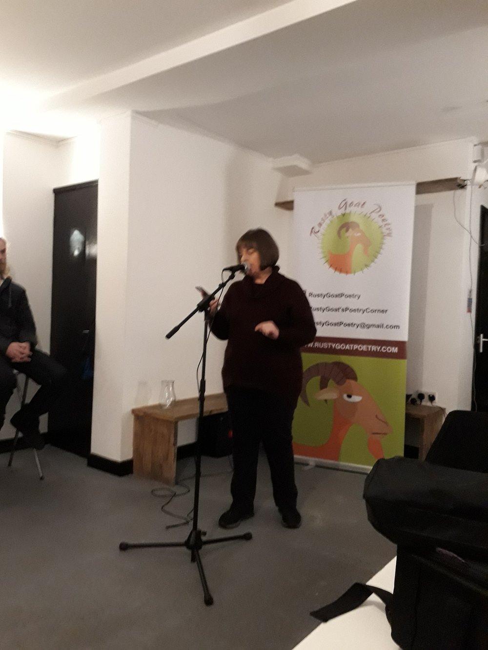 Rust Goats Poetry, Swindon, January 2019