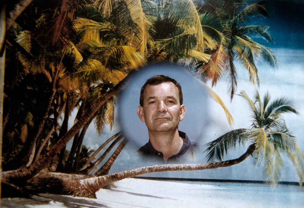 ITALY. Rimini. Autoportrait. Foto Alfredo. 1999