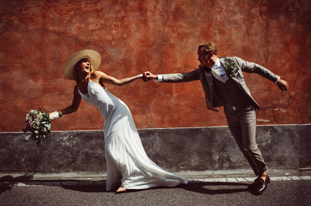 The Sweedish Style - Ida & Jakob in Lake Como