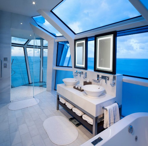 Celebrity Reflection Bathroom, Arranged by Travel Professionals