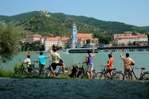 AMA Cruises Bicycle Tour in Austria