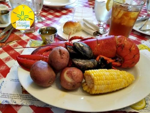 Lobster Feast near Cadillac Mountain