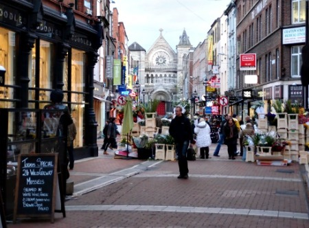 In Dublin Visit Grafton Street along with the famous Library of Trinity College. Picture provided by Joy Ross