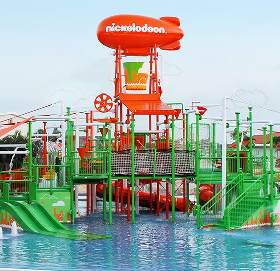 Picture provided by Nickelodeon Resorts. Family adventure fun at All-Inclusive Resorts.