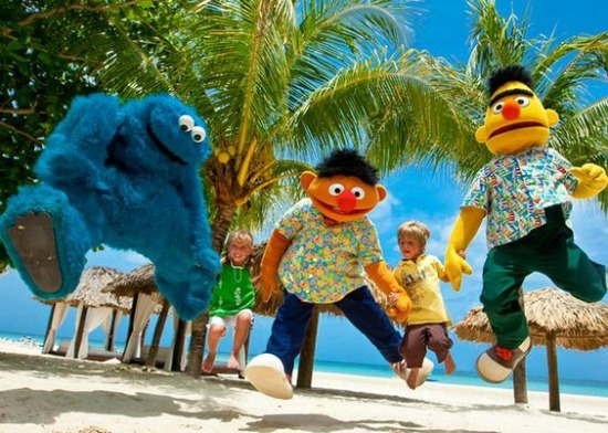 Picture provide by Beaches Resorts. Family fun at Beaches for children and adults
