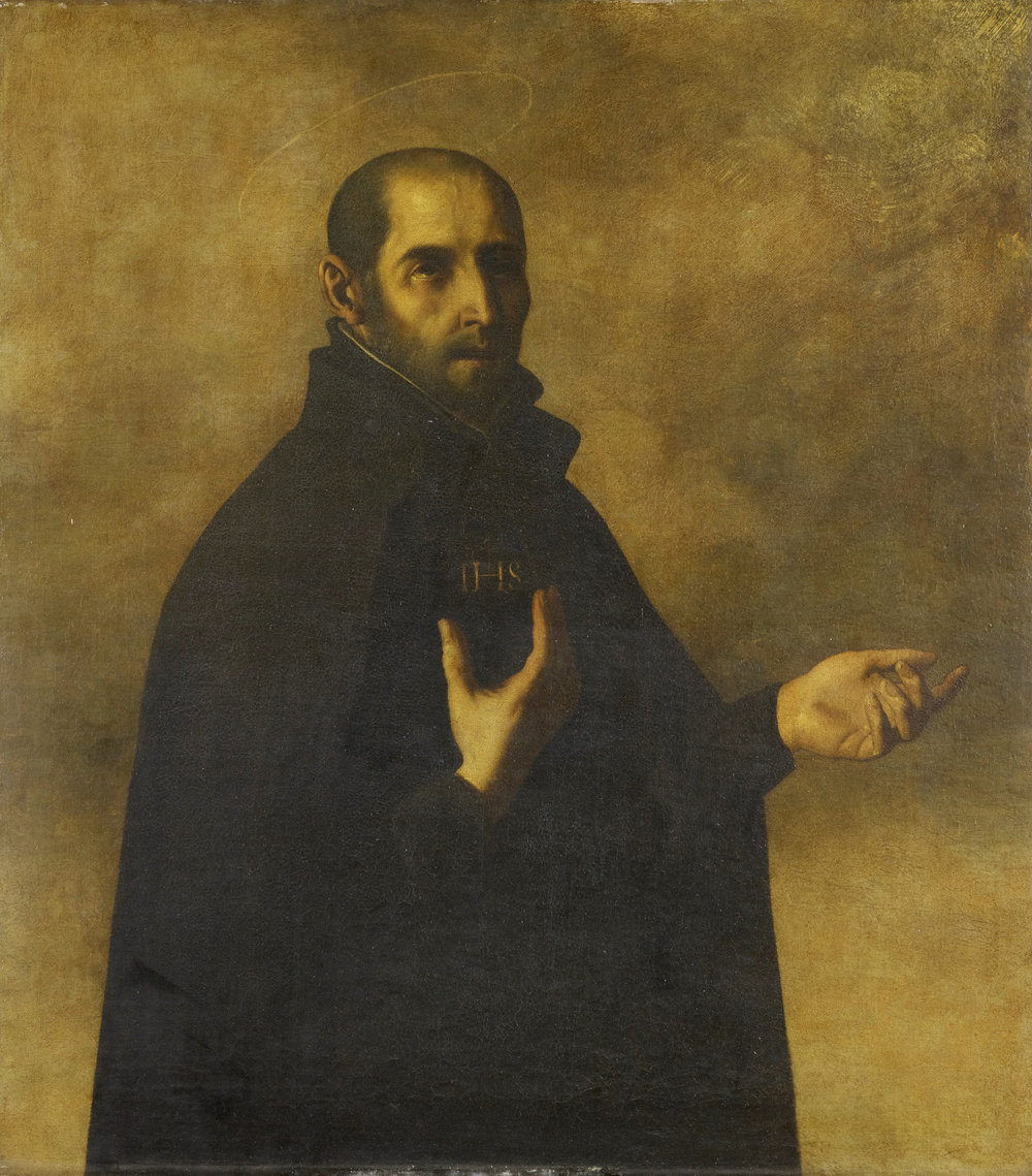 St. Ignatius of Loyola by Francisco Zurbaran