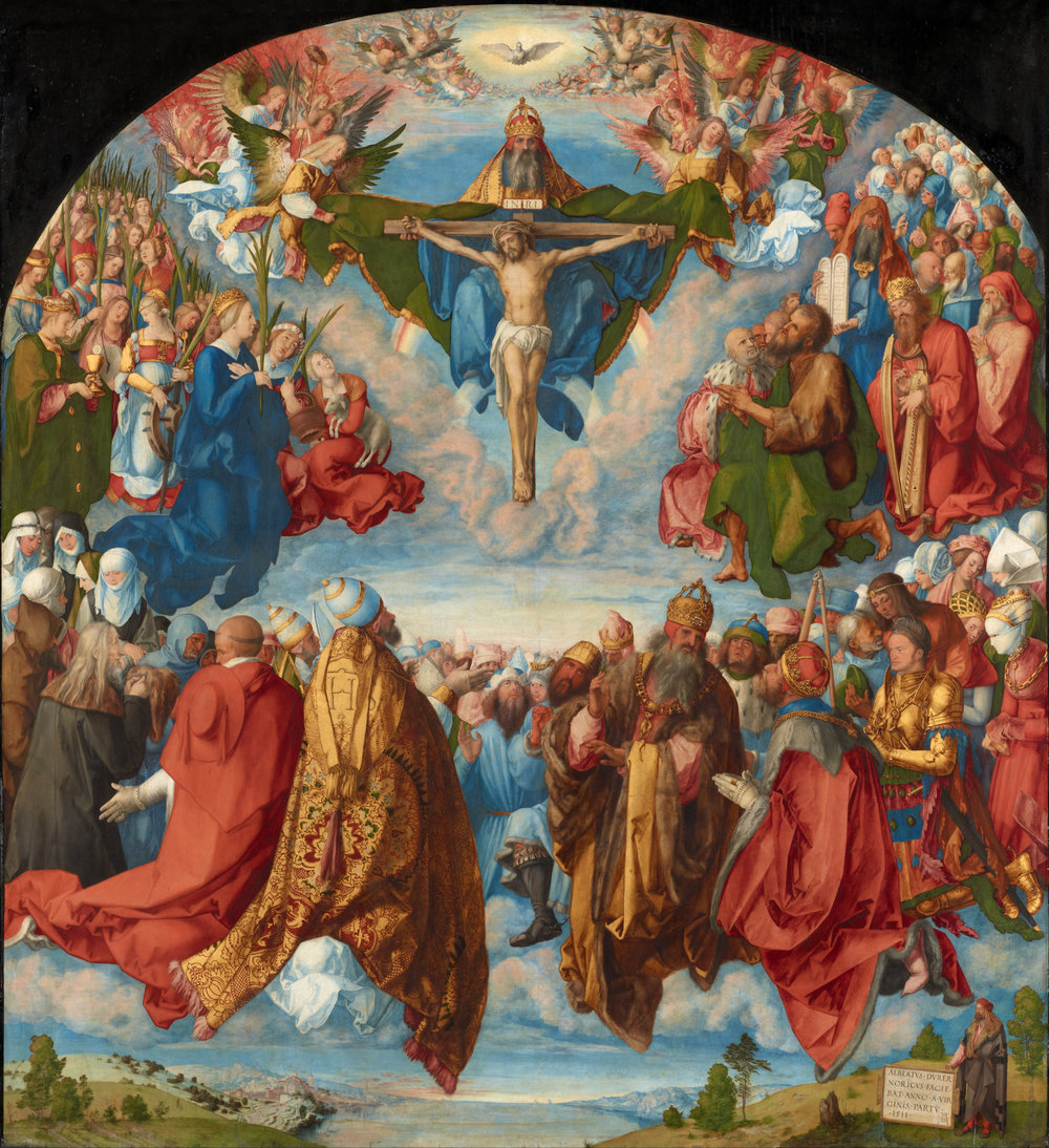 The  Adoration of the Trinity  by  Albrecht Dürer  (1511)
