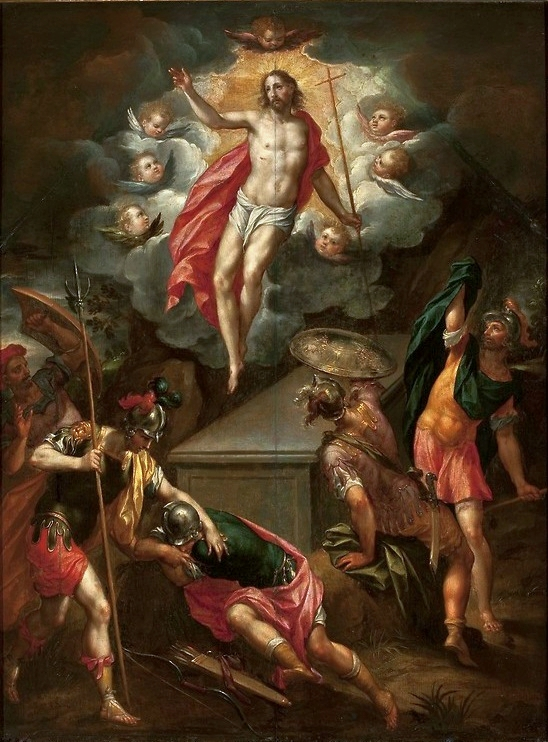 Resurrection of Christ  by Hans Rottenhammer