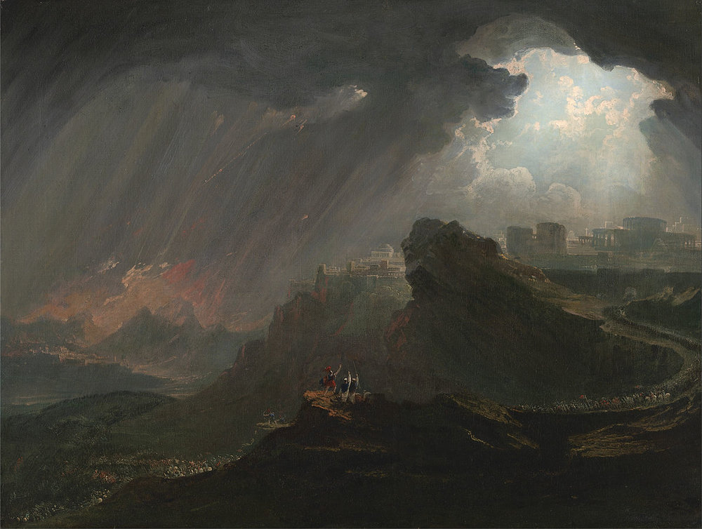 John Martin - Joshua Commanding the Sun to Stand Still - Google Art Project