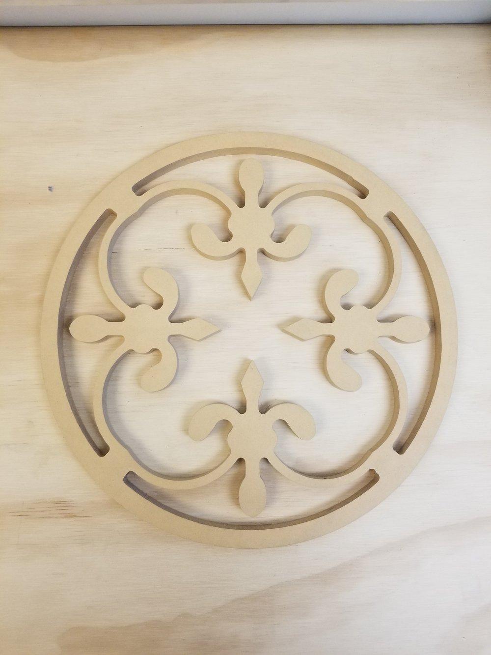 Decorative Test Piece