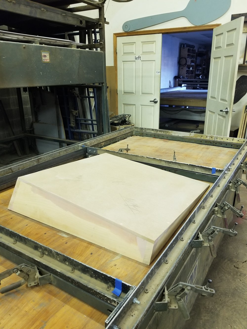 Vacuum Form Machine | TSA Inc. HQ | New Levant Initiative Mold