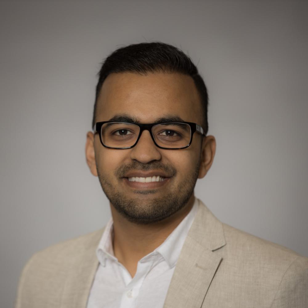 Viraaj Solanki — VP of Marketing & Communication