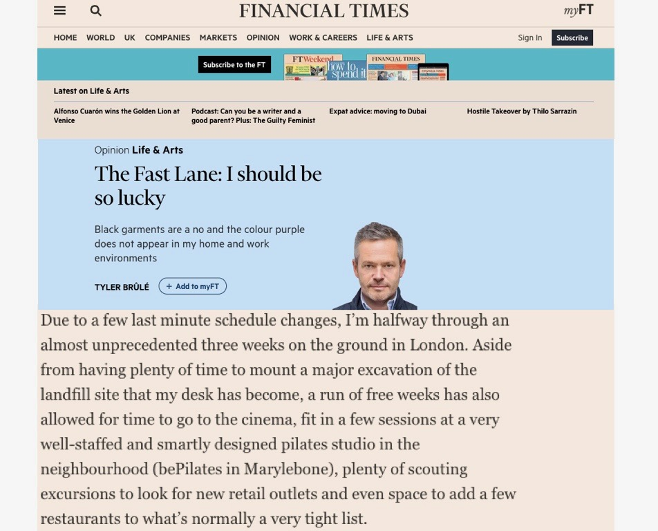 The Financial Times, 2014