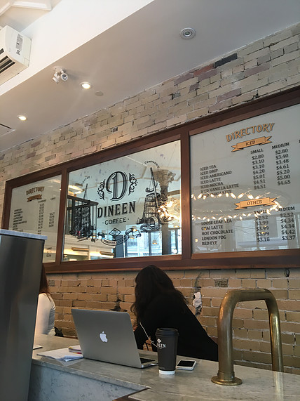 Dineen Coffee Co. | jumpseatjenny | Travel and Lifestyle Blogger | Toronto Ontario