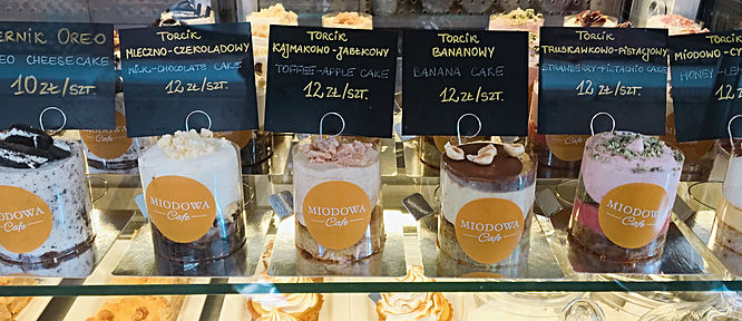 Warsaw's Cafe Fit For A Princess | Cakes at Miodowa | jumpseatjenny | Travel and Lifestyle Blogger | Warsaw Poland