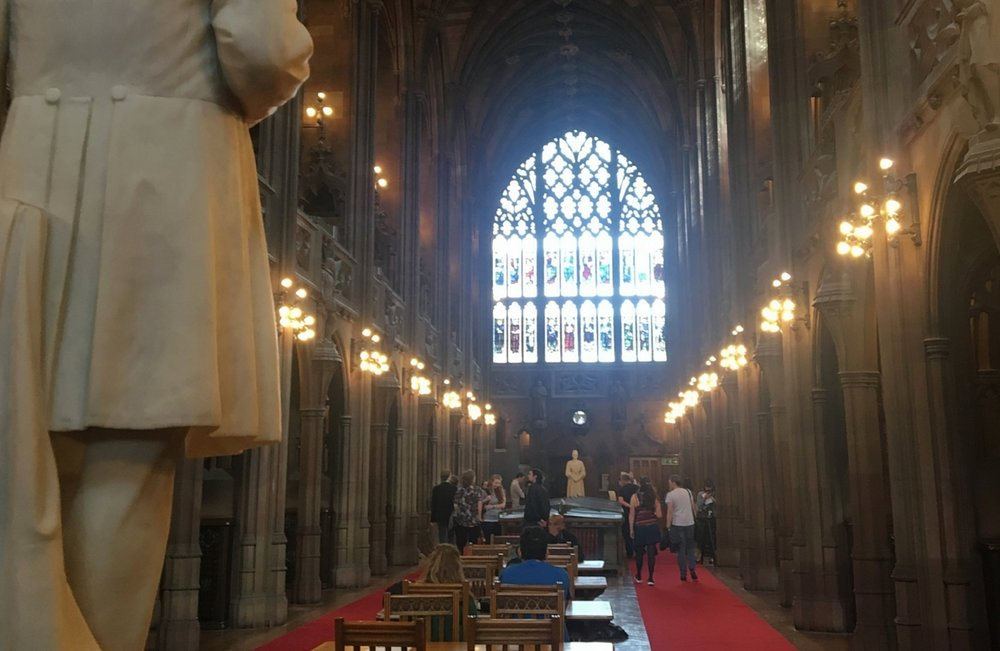 10 things not to miss in Manchester   John Rylands Library   jumpseatjenny   Travel and Lifestyle Blogger   Manchester United Kingdom