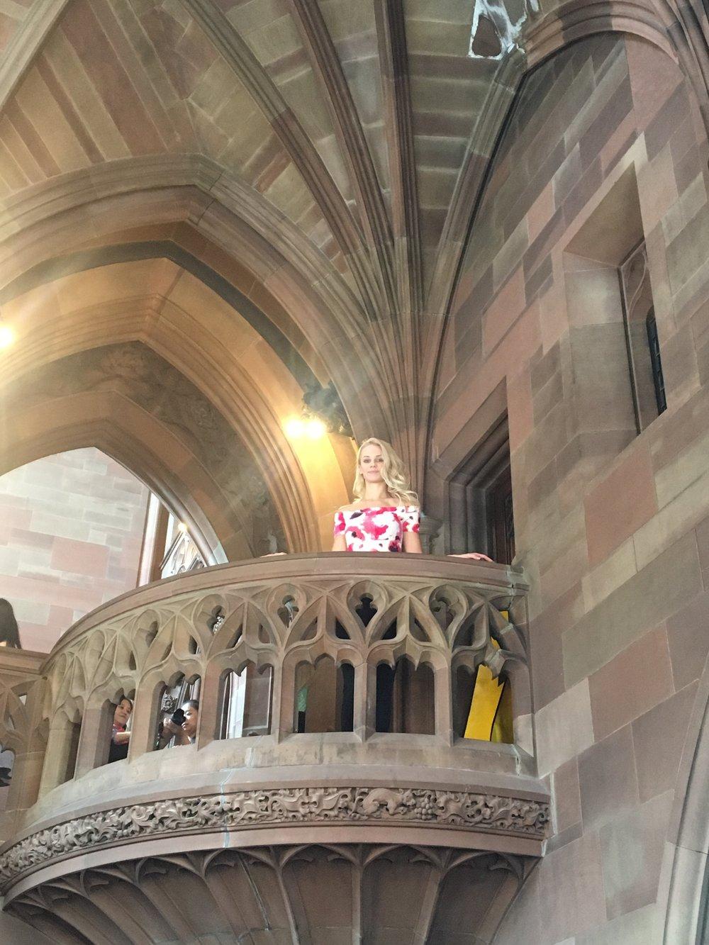 John Rylands Library Balcony   jumpseatjenny