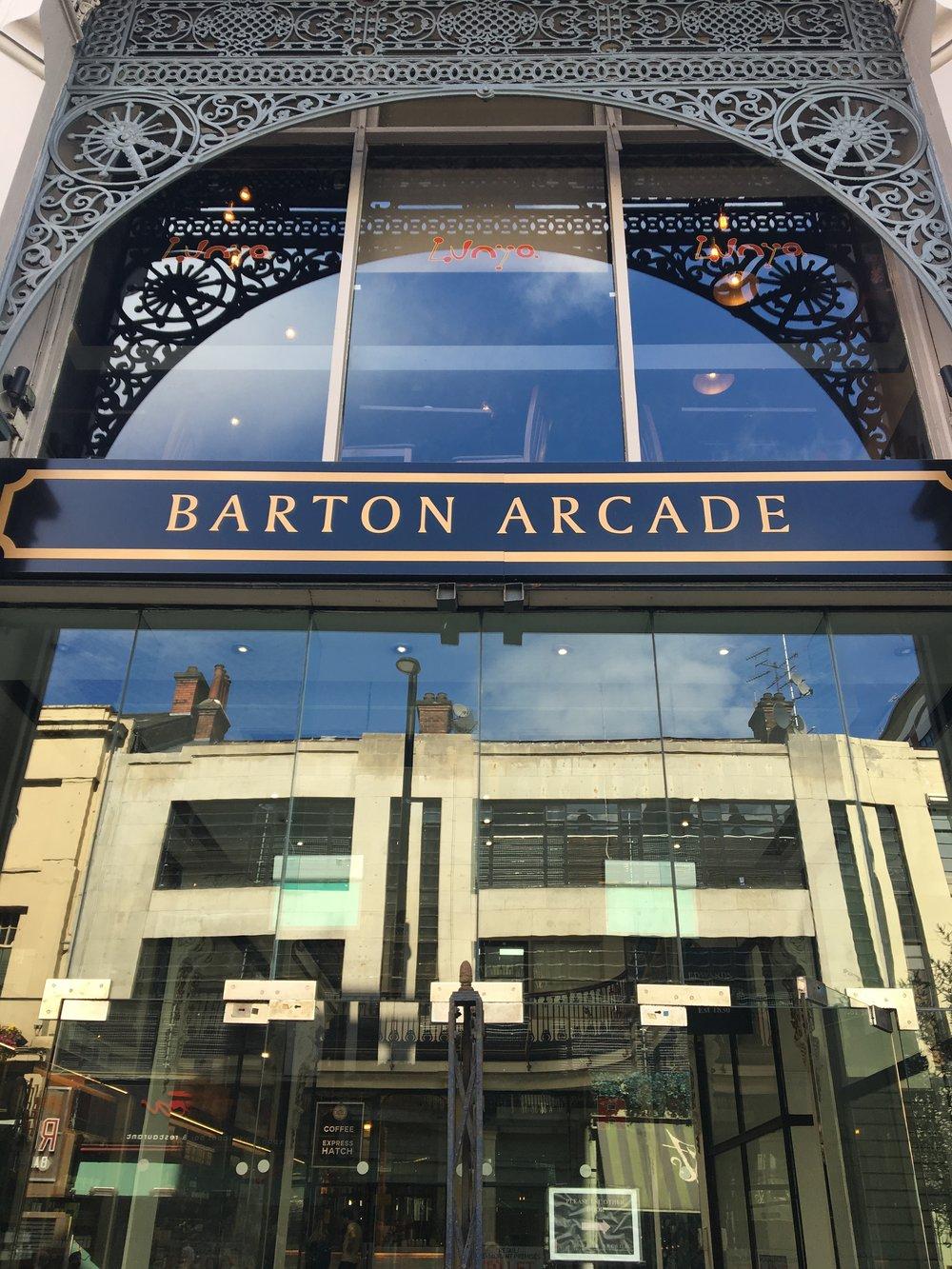 Barton Arcade Exterior   jumpseatjenny