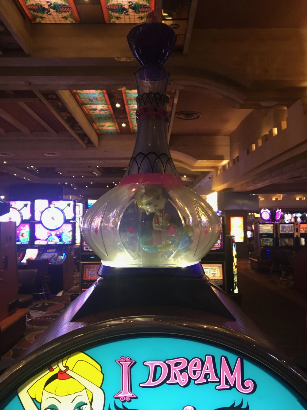 I dream of Jeannie Slots at Excalibur | jumpseatjenny