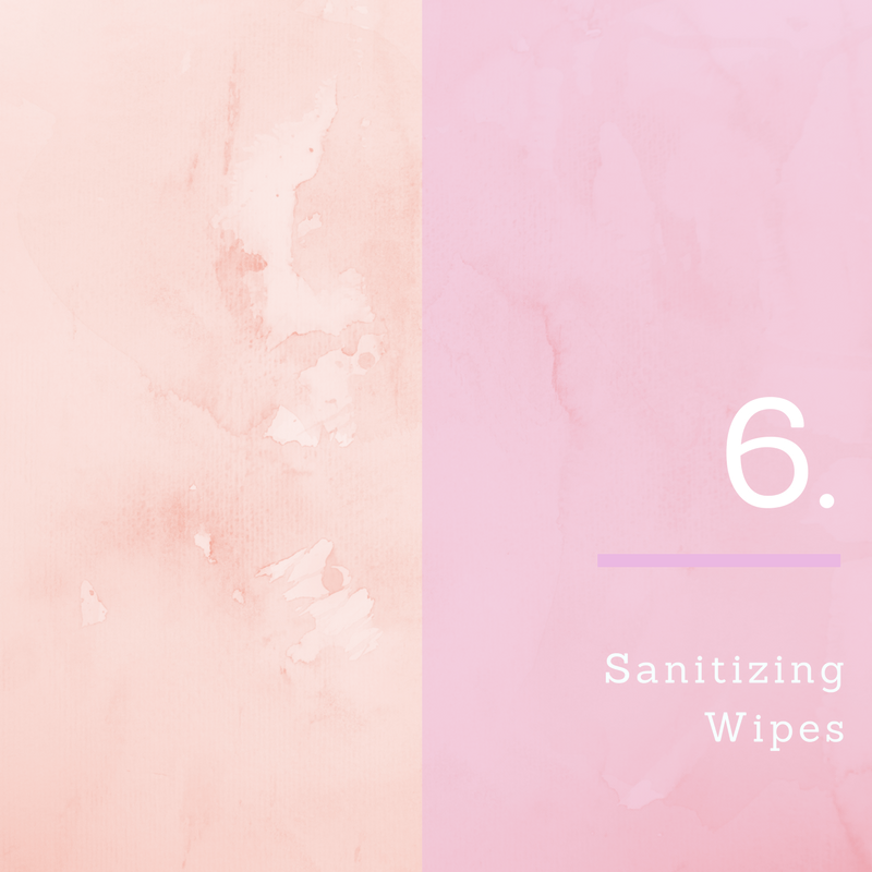 10 In Flight Essentials For Cabin Crew Number 6. Sanitizing Wipes   Jennifer Schlagheck   Travel and lifestyle blogger  