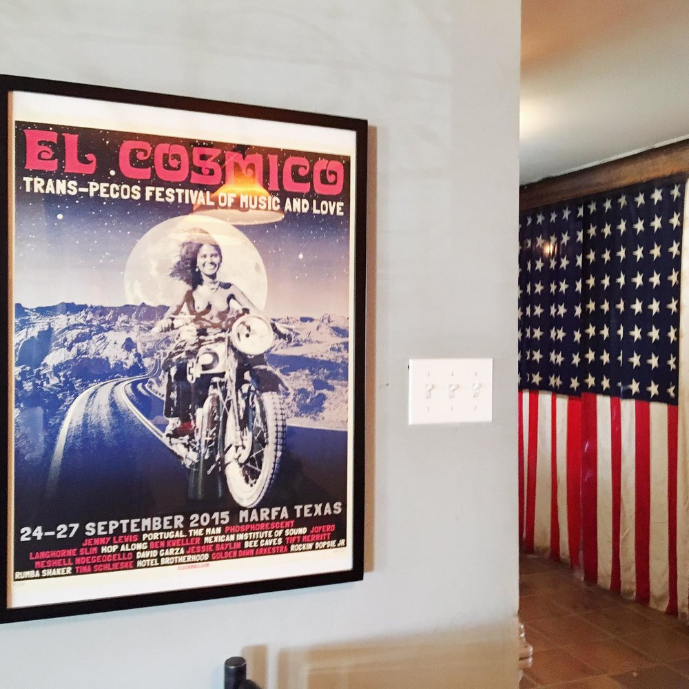 El Cosmico | Lobby | jumpseatjenny | Marfa Texas