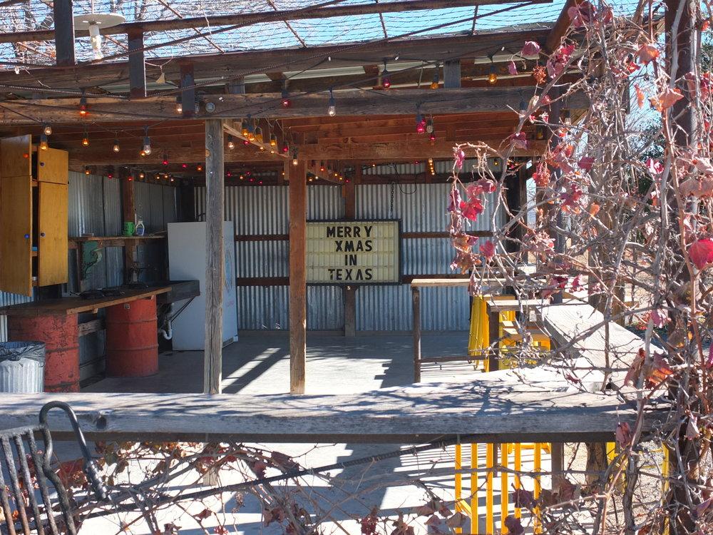 El Cosmico | Kitchen Al Fresco | jumpseatjenny | Marfa Texas