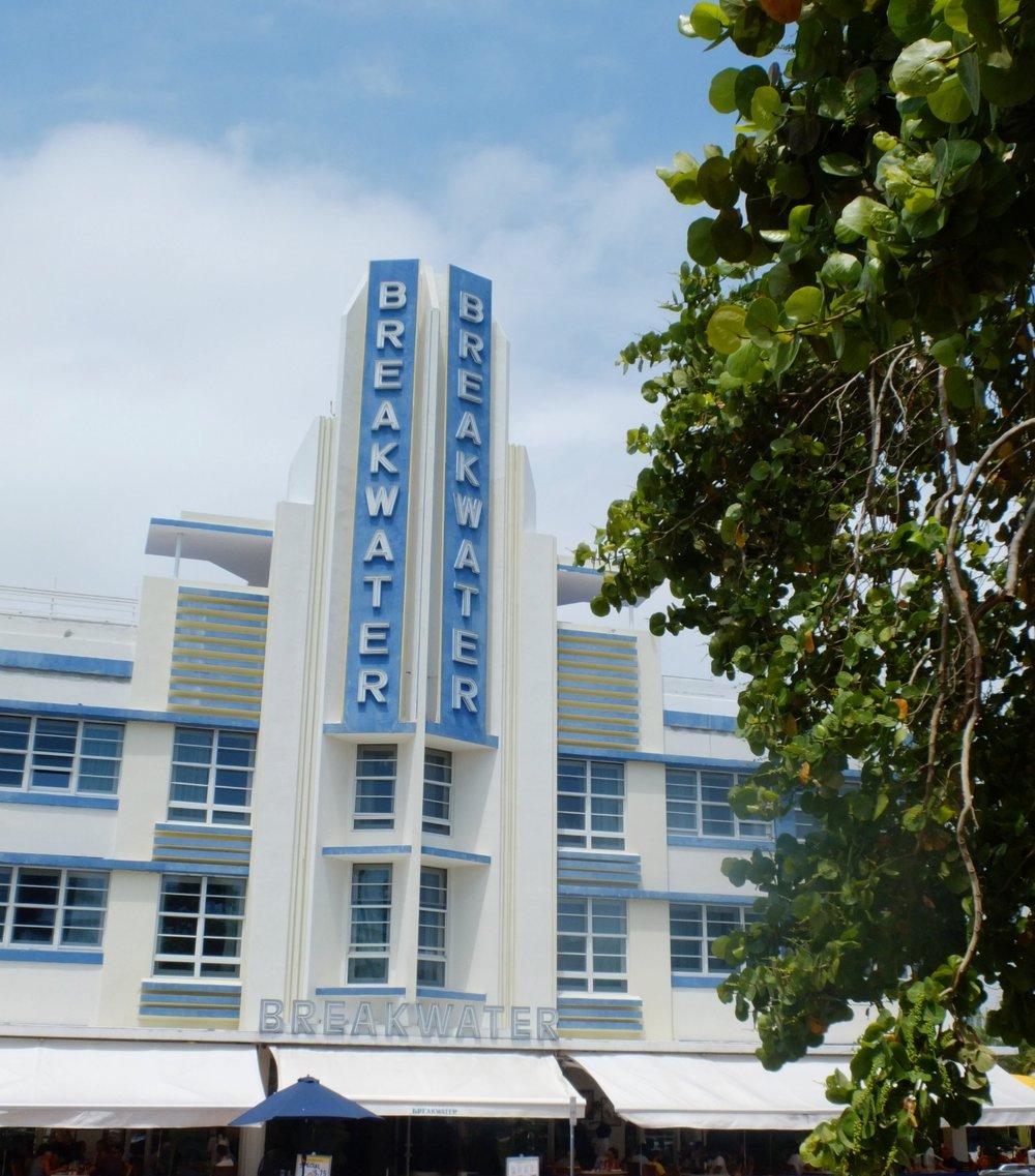 A Glimpse Into Miami's Art Deco Paradise | Breakwater | jumpseatjenny | Miami Florida