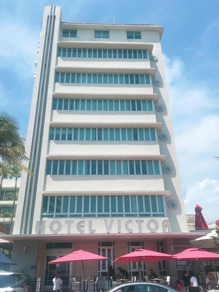 A Glimpse Into Miami's Art Deco Paradise | Hotel Victor | jumpseatjenny | Miami Florida
