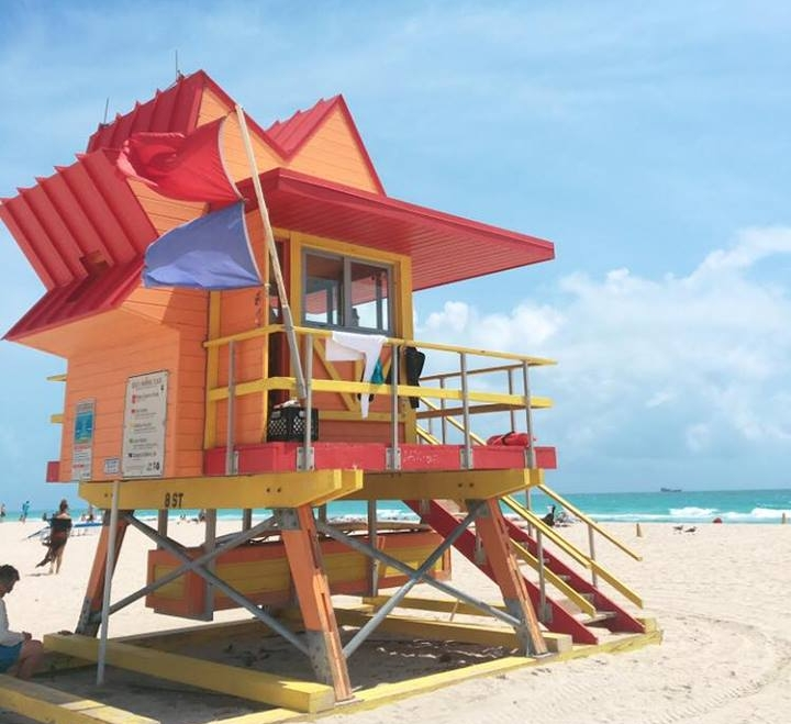 The Insta-Worthy Lifeguard Huts of South Beach | Orange | jumpseatjenny | Miami Florida.jpg