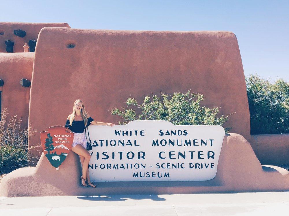 The Worlds Largest Gypsum Sandbox | White Sands Welcome | jumpseatjenny | New Mexico.jpg