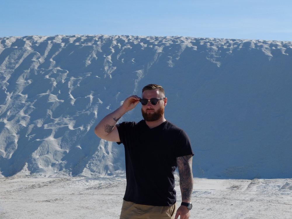 The Worlds Largest Gypsum Sandbox | Large Dunes | jumpseatjenny | New Mexico.JPG