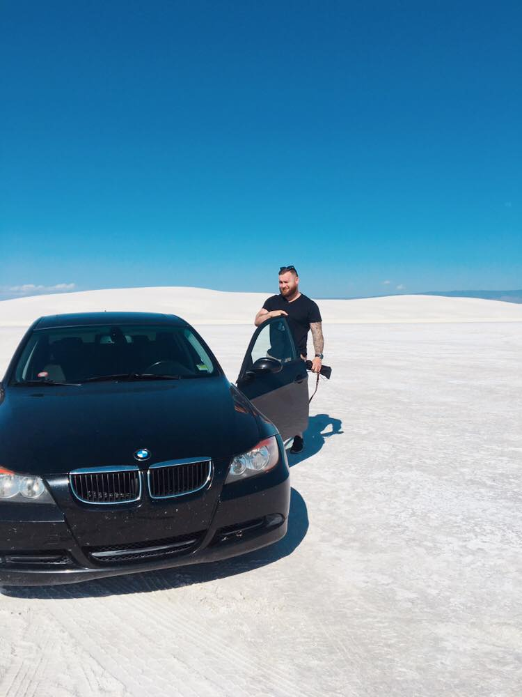 The Worlds Largest Gypsum Sandbox | Drive In | jumpseatjenny | New Mexico