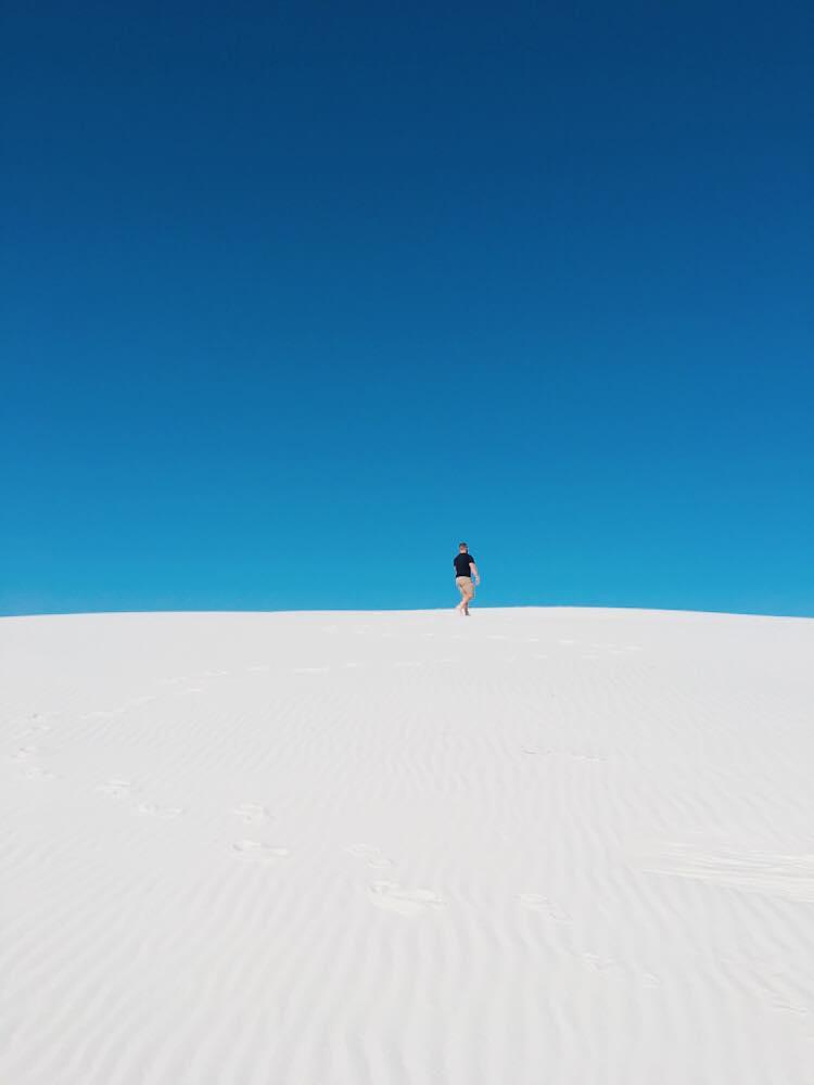 The Worlds Largest Gypsum Sandbox | Tiny Tim | jumpseatjenny | New Mexico