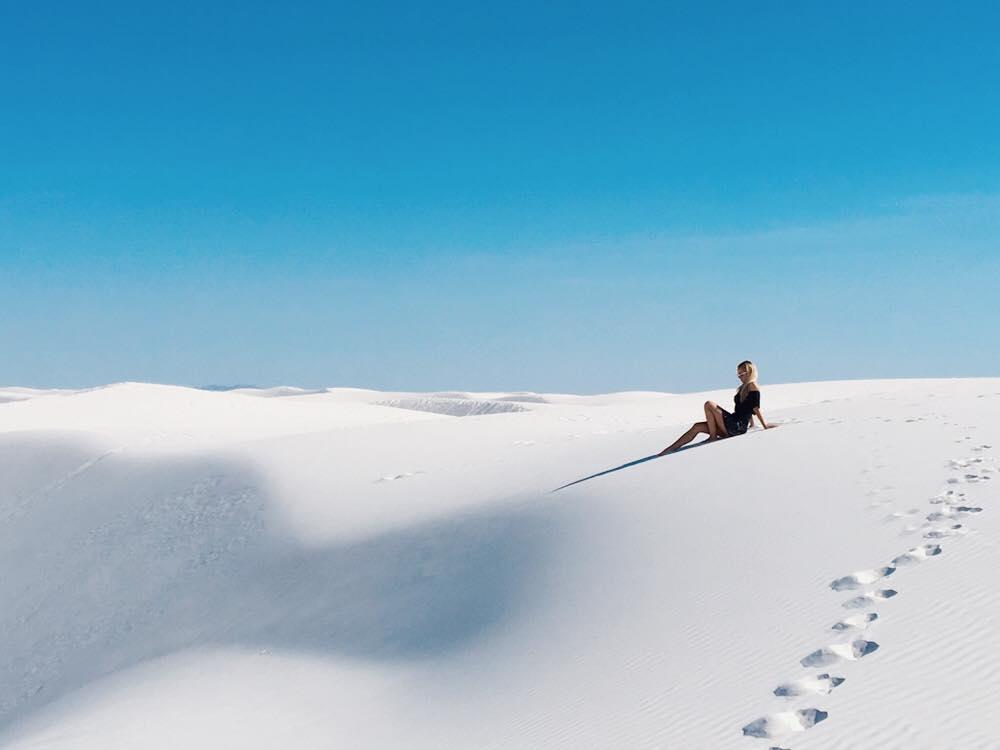 The Worlds Largest Gypsum Sandbox | White Sands | jumpseatjenny | New Mexico