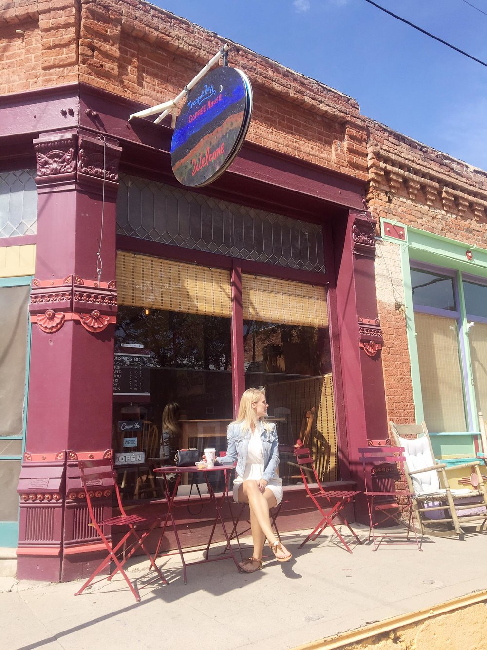 Silver City Is The Hidden Gem You Need To Visit | Coffee Stop at Tranquil Buzz | jumpseatjenny | Silver City, New Mexico.jpg