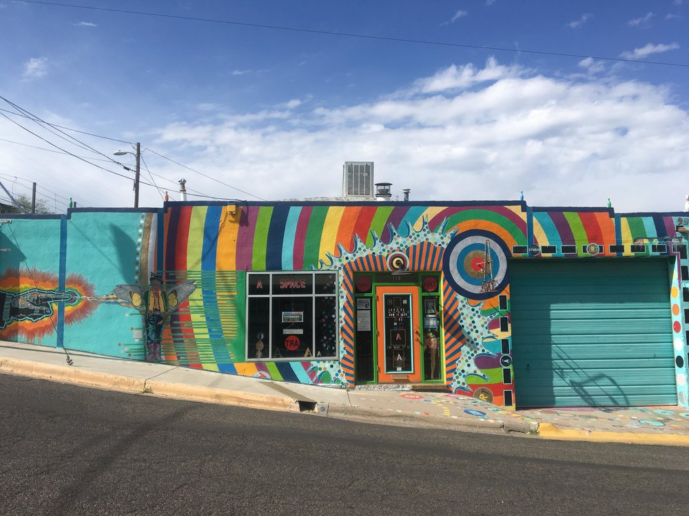 Silver City Is The Hidden Gem You Need To Visit | Aspace Art Gallery | jumpseatjenny | Silver City, New Mexico