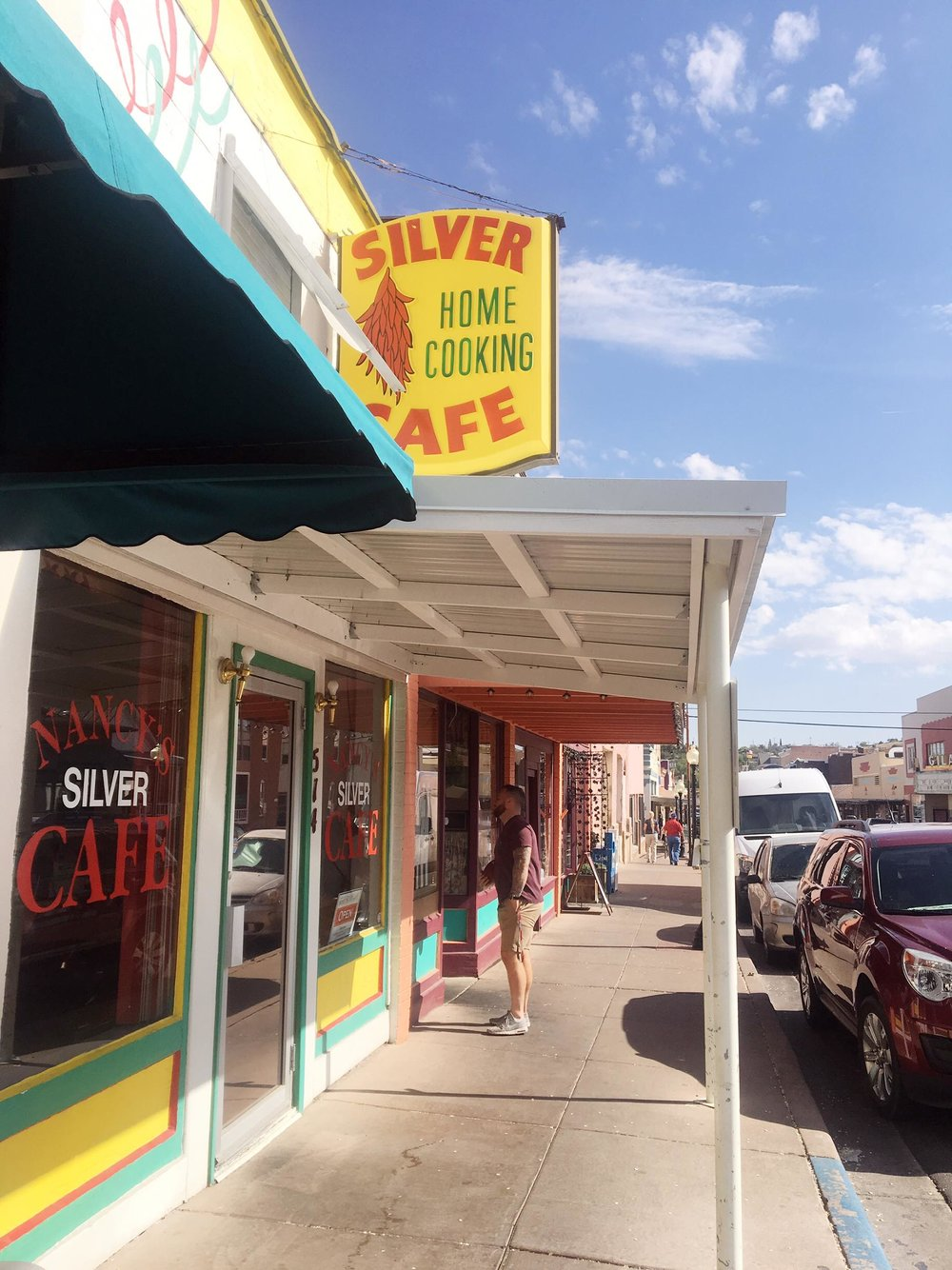 Silver City Is The Hidden Gem You Need To Visit | Silver Cafe| jumpseatjenny | Silver City, New Mexico