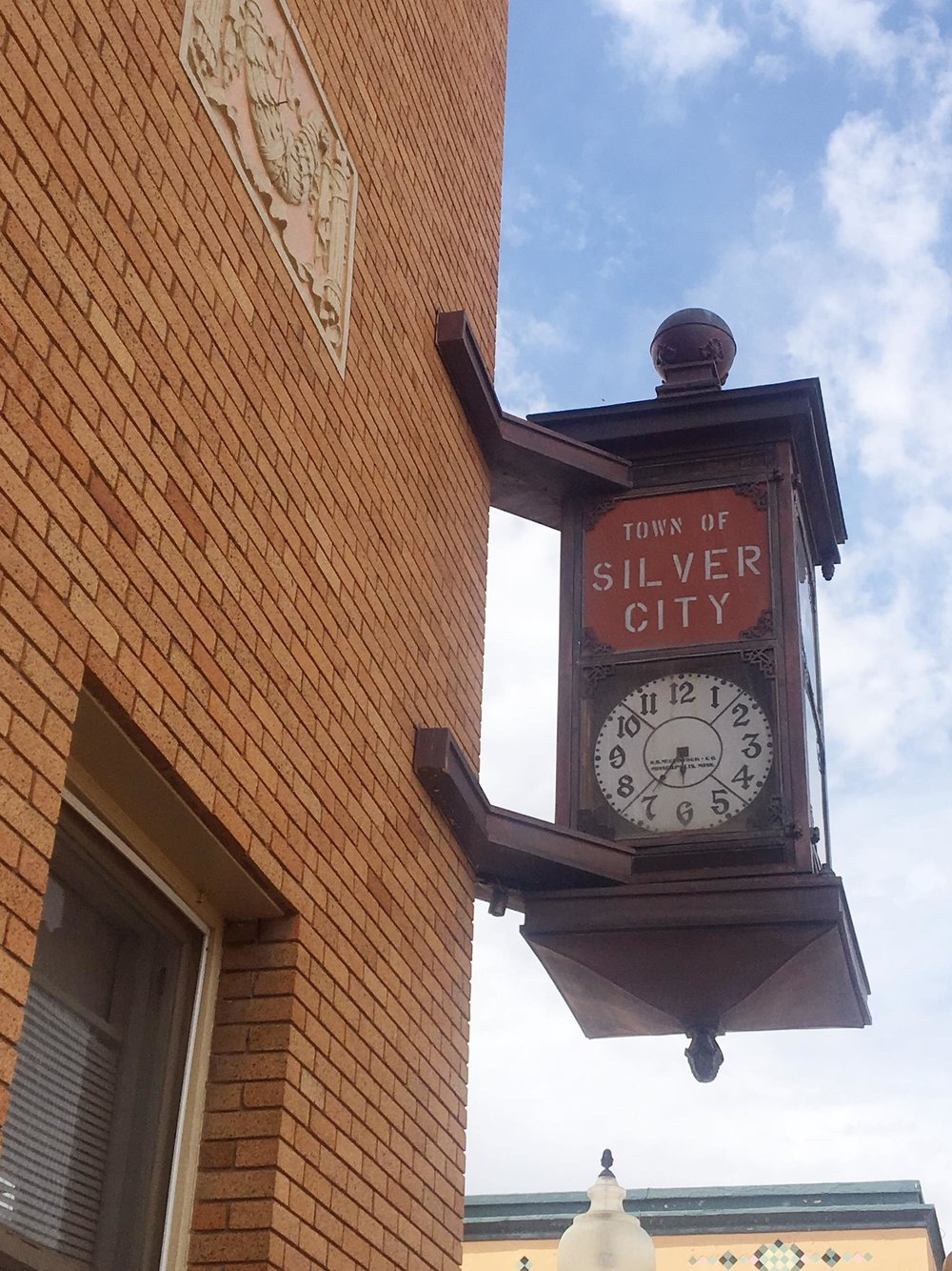 Silver City Is The Hidden Gem You Need To Visit | Silver City Clock | jumpseatjenny | Silver City, New Mexico