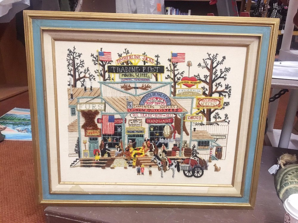 Silver City Is The Hidden Gem You Need To Visit | Vintage Needlework | jumpseatjenny | Silver City, New Mexico