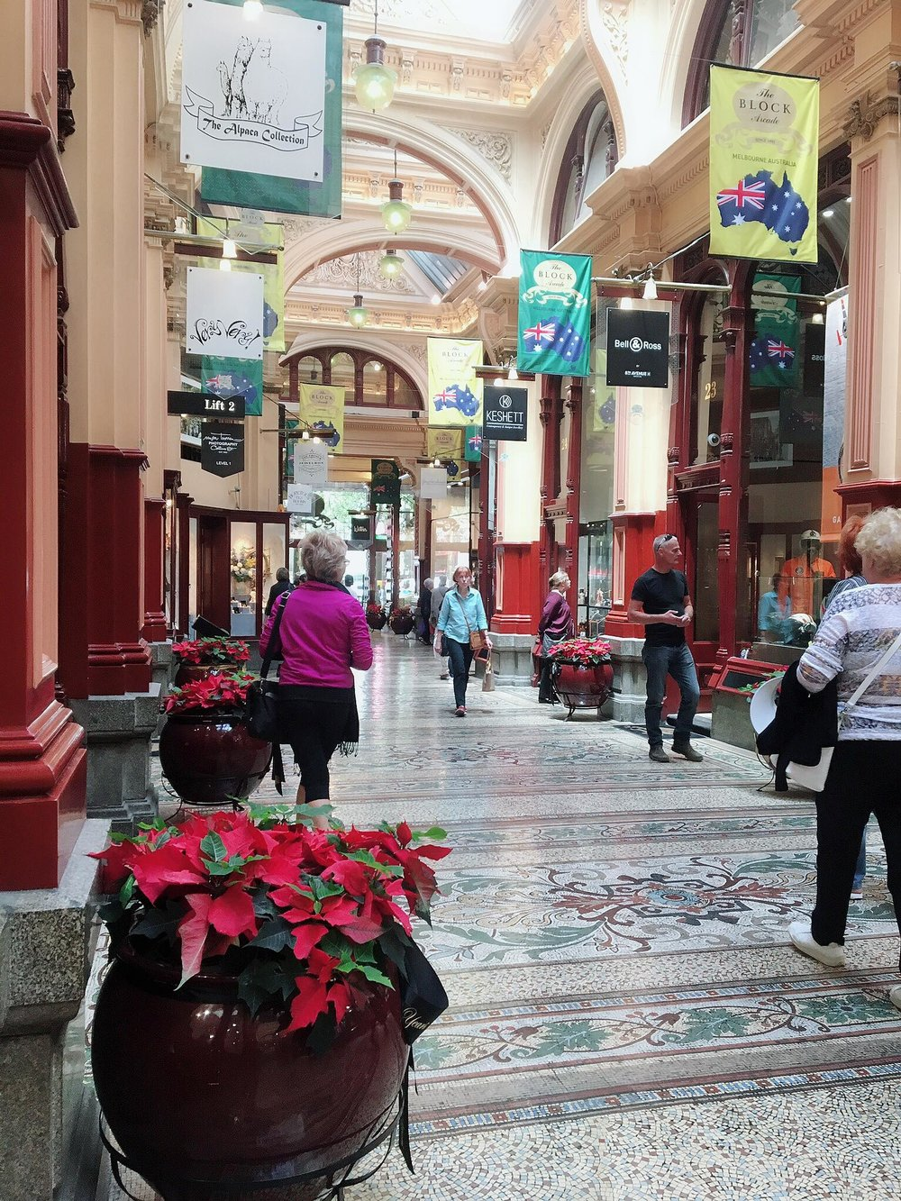 Australias Beautiful Shopping Arcades   The Down Under Series   The Block Corridor   jumpseatjenny   Melbourne, NSW.jpg