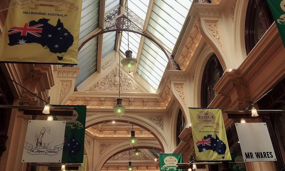 Australias Beautiful Shopping Arcades   The Down Under Series   The Block Arcade Corridor   jumpseatjenny   Melbourne, NSW.jpg